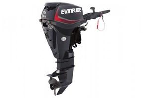 """Evinrude E25DGTE - 25HP Graphite, 15"""", Tiller, Manual  2016"""