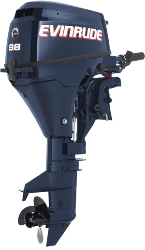 Evinrude portable 9 8 hp e10tpl4 2017 new outboard for for 10 hp outboard motors for sale