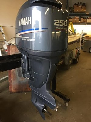 Yamaha f250txr 2006 used outboard for sale in port moody for Yamaha outboard parts house