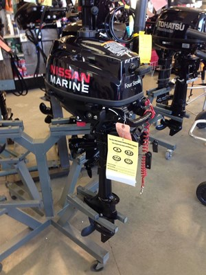 Nissan 3 5 Hp 2015 New Outboard For Sale In Campbell River