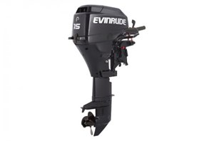 "Evinrude E15TEG4AB 15 HP TILLER ELECTRIC 15"" SHAFT 2016"