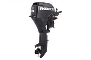 """Evinrude E15RG4AB 15 HP TILLER ROPE 15"""" SHAFT 2016"""
