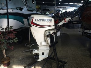 "Evinrude E30DPSL - 30HP White, 20"", Remote, Power Tilt 2016"