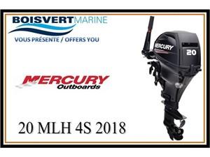 Mercury 20 MLH  4S 2018