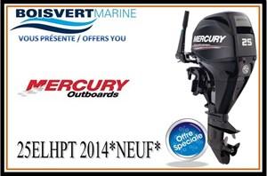 Mercury 25 ELHPT 2014