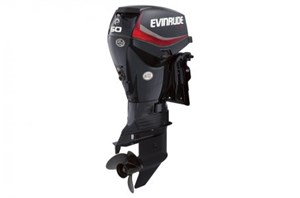 "Evinrude E50DGTL - 50 HP Graphite, 20"" Shaft, Tiller S 2016"