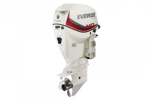 "Evinrude A115SHX - 115 HO White, 25"" Shaft 2016"