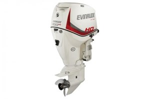 "Evinrude E200DHX - 200 HO White, 25"" Shaft 2016"