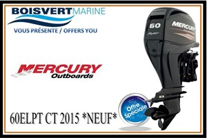 Mercury 60ELPT CT 2015
