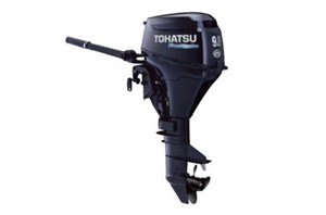 "Tohatsu MFS9.8 - 15"" Shaft, Tiller, Electric Start 2017"