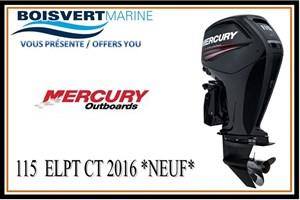 Mercury 115 ELPT CT 2016
