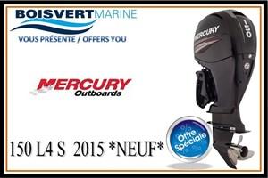 Mercury 150 L4 S 2015