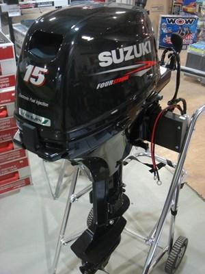 Suzuki DF15AES Fuel Injected 2018