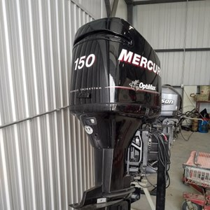 Mercury 150 Optimax Rebuilt Powerhead 2004