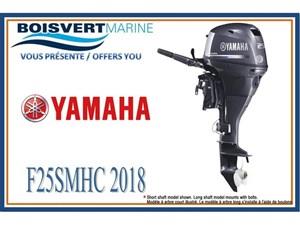 Yamaha F25SMHC (DÉMARRAGE MANUEL) 2018