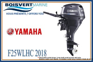 Yamaha F25LWHC 2018