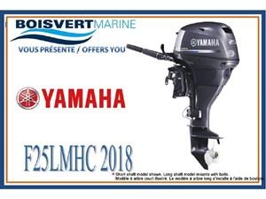 Yamaha F25LMHC (DÉMARRAGE MANUEL) 2018