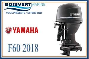 Yamaha F60 PROPULSION PAR JET 2018
