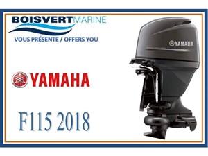 Yamaha F115 PROPULSION PAR JET 2018