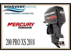 Mercury 200cv  PRO XS 2018