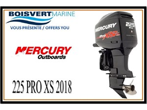 Mercury 225cv PRO XS 2018
