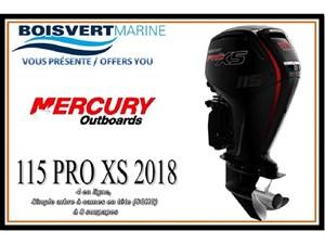 Mercury 115cv PRO XS 2018