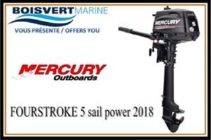 Mercury FOURSTROKE 5 (sail power) 2018