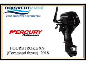 Mercury FOURSTROKE 9.9  (Command thrust) 2018