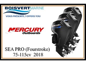 Mercury SEA PRO FourStroke 75-115cv 2018