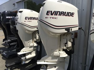 Evinrude Twin E- TECH 200HP HO 2013