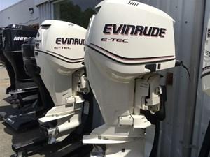 Evinrude Twin E- TECH 200HP HO 2013