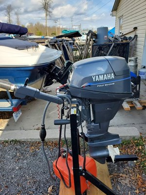 2000 Yamaha Elec start