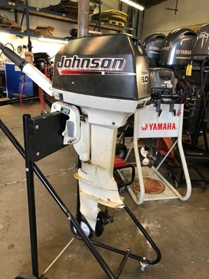 Johnson 8 HP 2003