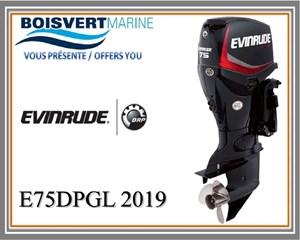 Evinrude E75DPGL 2019