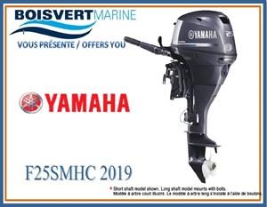 Yamaha F25SMHC 2019