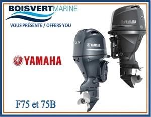 Yamaha F75 et F75B 2019
