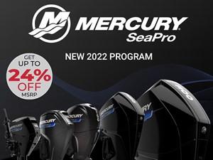 2022 Mercury 225XL V-8 4-Stroke SeaPro DTS Commercial