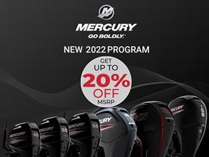 2022 Mercury 50ELPT Fourstroke