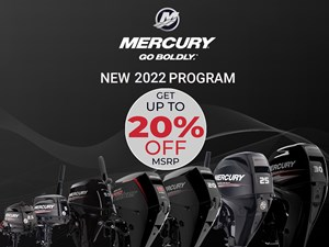 2022 Mercury 5MH Propane 4-Stroke