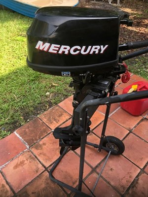 Mercury Four stroke 2009