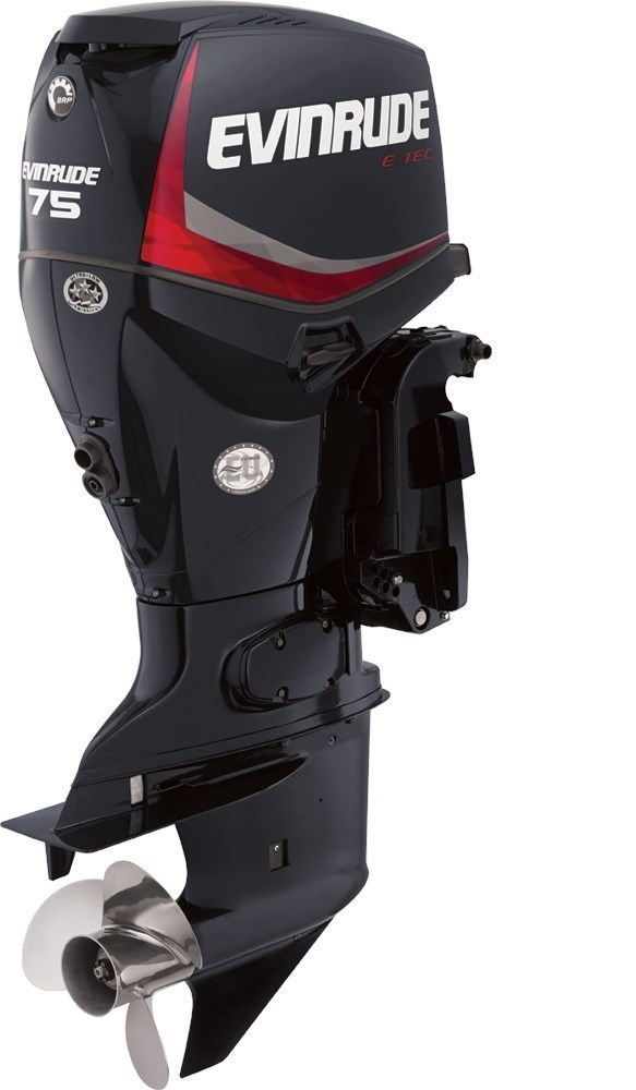 2016 Evinrude E-TEC Inline 75 HP - E75DPGL Photo 1 of 1