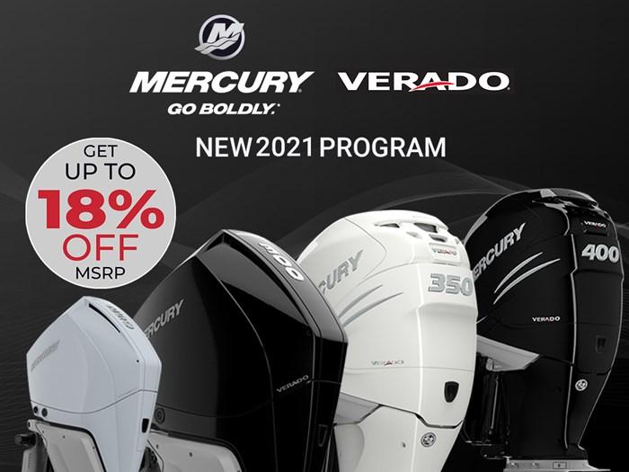 2021 Mercury 350XL Verado 4 -Stroke Photo 1 of 17