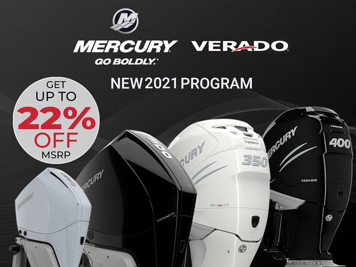 2021 Mercury 350XXL Verado 4 -Stroke Photo 1 of 16