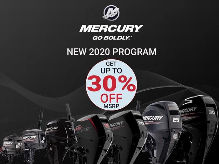 2020 Mercury 20MLH 4-Stroke EFI (new) Photo 1 of 12