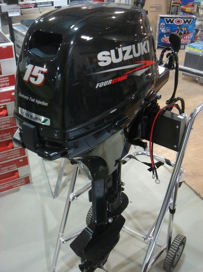 2018 Suzuki DF15AES Fuel Injected Photo 1 of 2