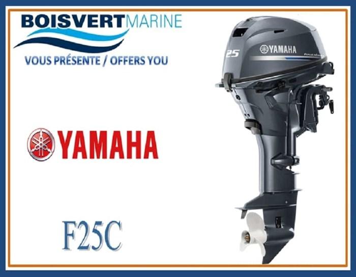 2019 Yamaha F25C Photo 1 of 1