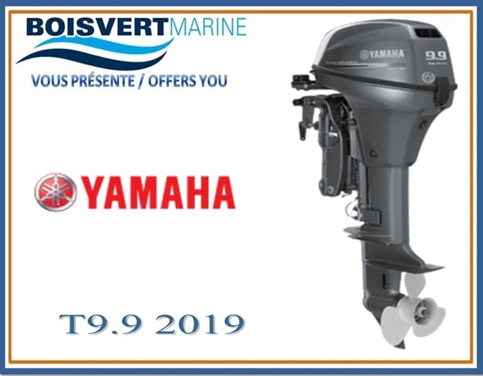2018 Yamaha T9.9XWHB (PIED EXTRA LONG) Photo 1 of 1