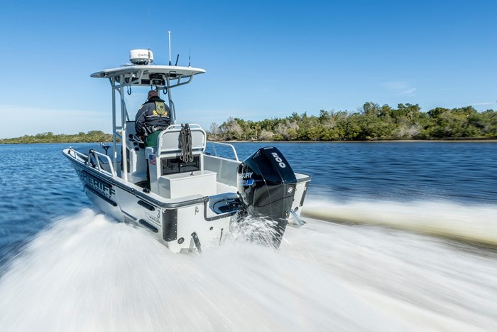 2020 Mercury 225CXL V-8 4-Stroke SeaPro DTS Commercial Outboard Photo 14 of 17