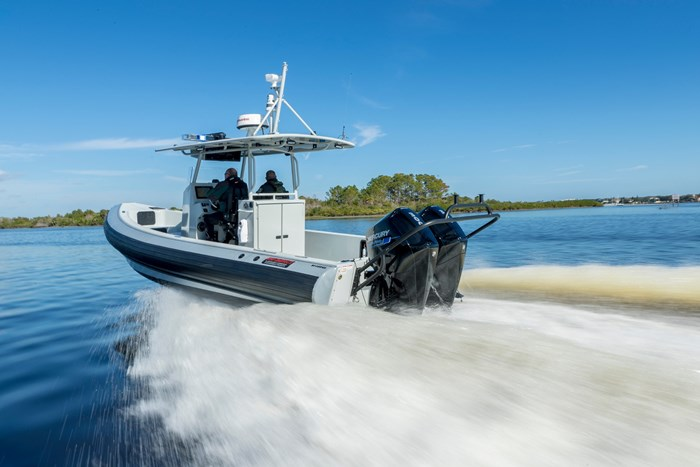 2019 Mercury 250XL V-8 4-Stroke SeaPro Commercial Outboard Photo 16 of 18