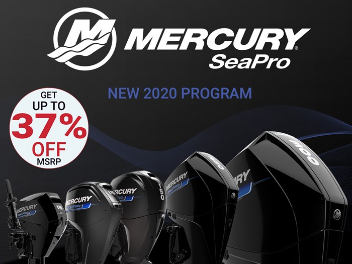 2020 Mercury 250CXL V-8 4-Stroke SeaPro DTS Commercial Outboard Photo 1 of 20